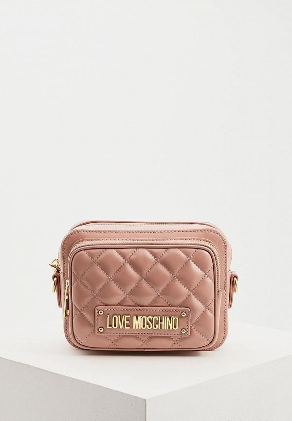 Сумка Love Moschino Love Moschino LO416BWDRJK8 сумка love moschino love moschino lo416bwaevd3