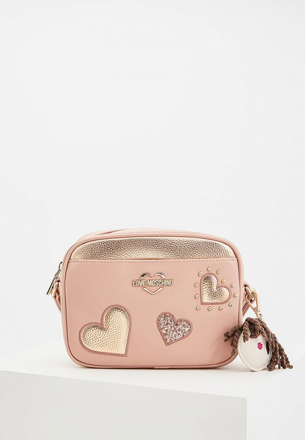 Сумка Love Moschino Love Moschino LO416BWDRJP5 сумка love moschino love moschino lo416bwypj75
