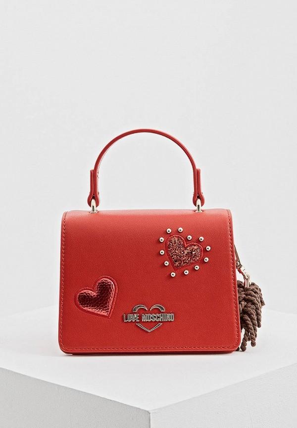 Сумка Love Moschino Love Moschino LO416BWDRJQ0 недорго, оригинальная цена