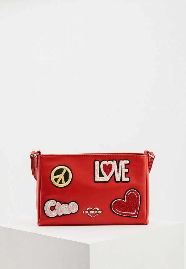 Сумка Love Moschino Love Moschino LO416BWDRND0 love moschino сумка love moschino jc4059pp11lf150a