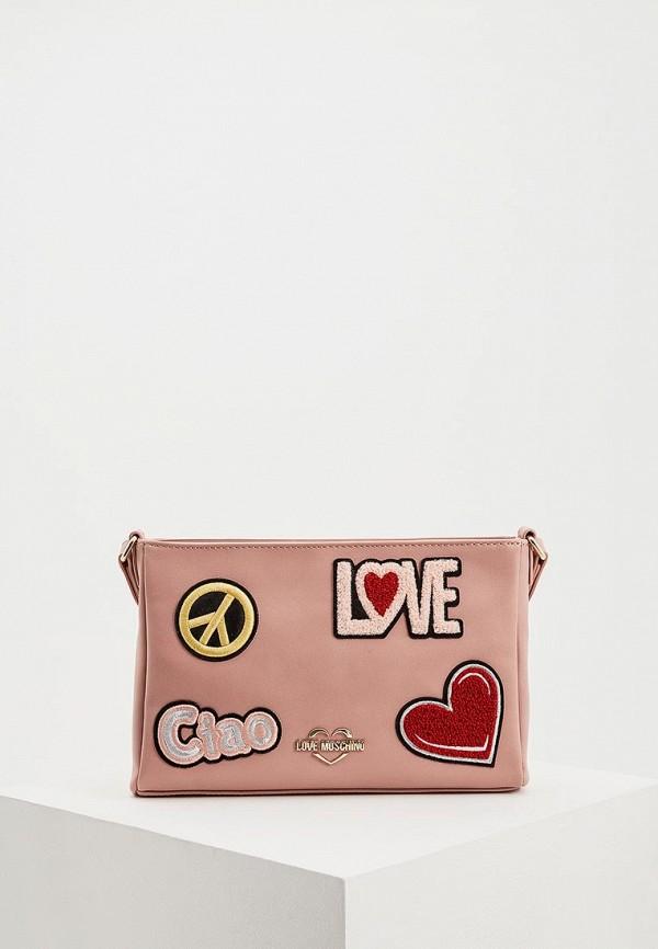 Сумка Love Moschino Love Moschino LO416BWDRND1 сумка love moschino page 2