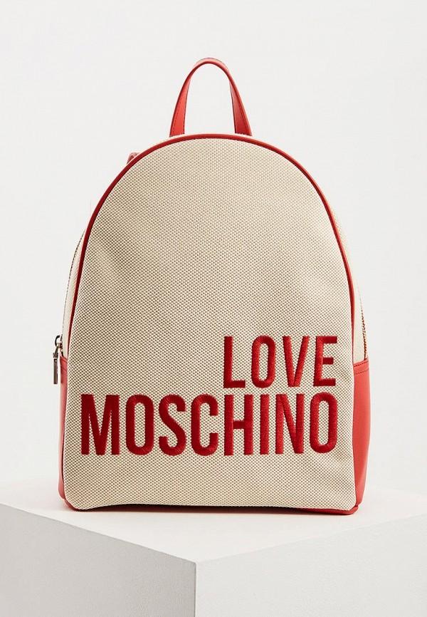 Рюкзак Love Moschino Love Moschino LO416BWDRNE6 цена