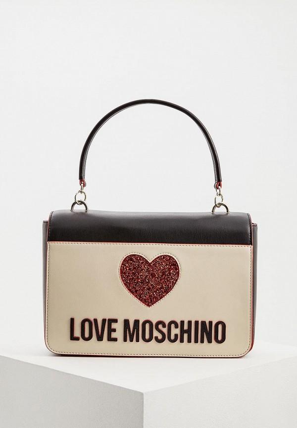 Сумка Love Moschino Love Moschino LO416BWDRNE7 сумка love moschino love moschino lo416bwaevd3