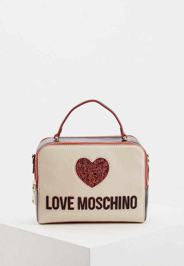 Сумка Love Moschino Love Moschino LO416BWDRNE9 сумка love moschino love moschino lo416bwypj75