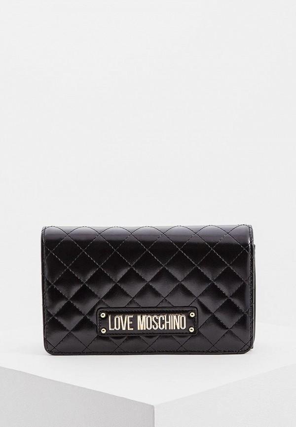 купить Сумка Love Moschino Love Moschino LO416BWDRNF0 по цене 10500 рублей