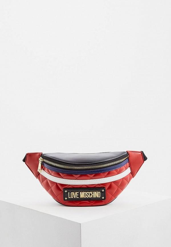 Сумка поясная Love Moschino Love Moschino LO416BWDRNG4 сумка love moschino love moschino lo416bwypj40