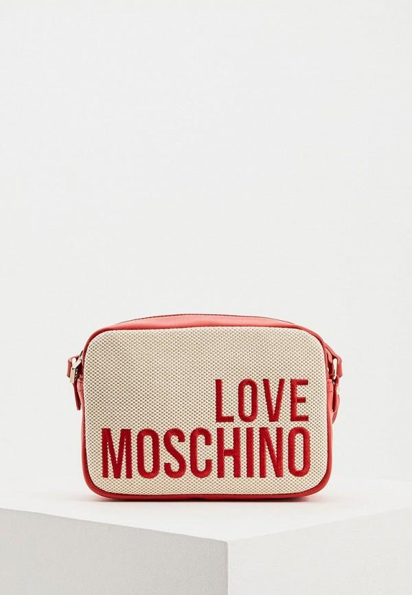 Сумка Love Moschino Love Moschino LO416BWDRNG7 сумка love moschino love moschino lo416bwaevd3