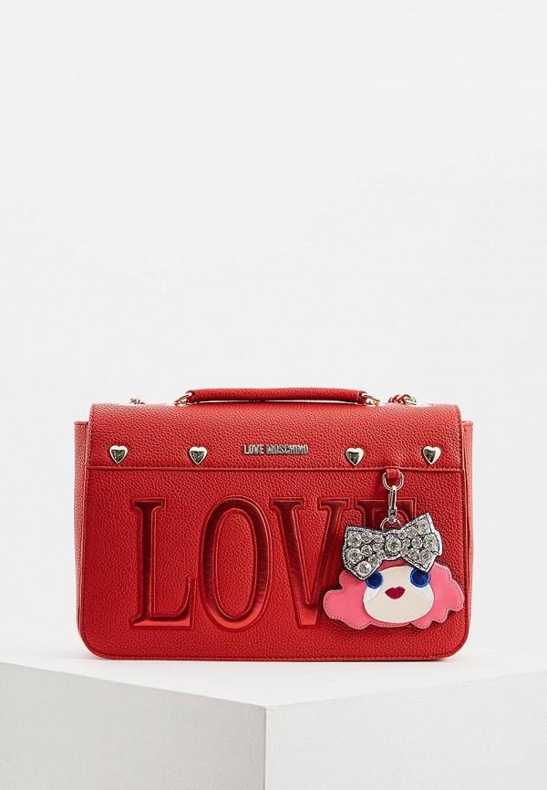 Сумка Love Moschino Love Moschino LO416BWEDAY7 сумка love moschino love moschino lo416bwuah74