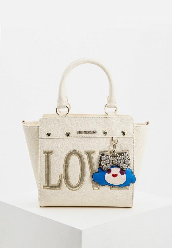 Сумка Love Moschino Love Moschino LO416BWEDAY9 сумка love moschino love moschino lo416bwbrex9