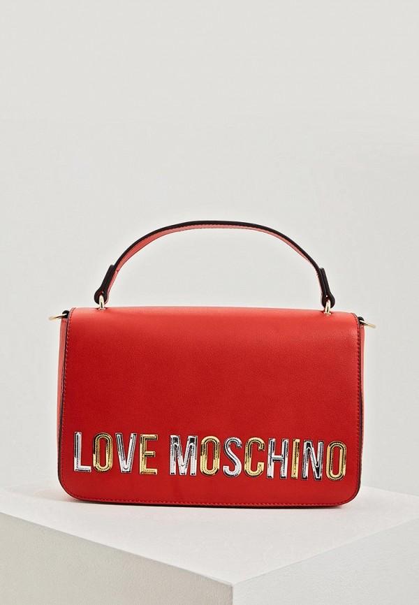 Сумка Love Moschino Love Moschino LO416BWEDBA1 недорго, оригинальная цена