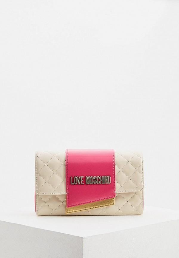 купить Сумка Love Moschino Love Moschino LO416BWEDBB2 по цене 12300 рублей