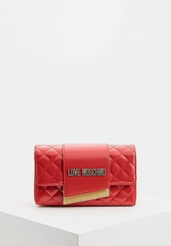 купить Сумка Love Moschino Love Moschino LO416BWEDBB3 по цене 8610 рублей