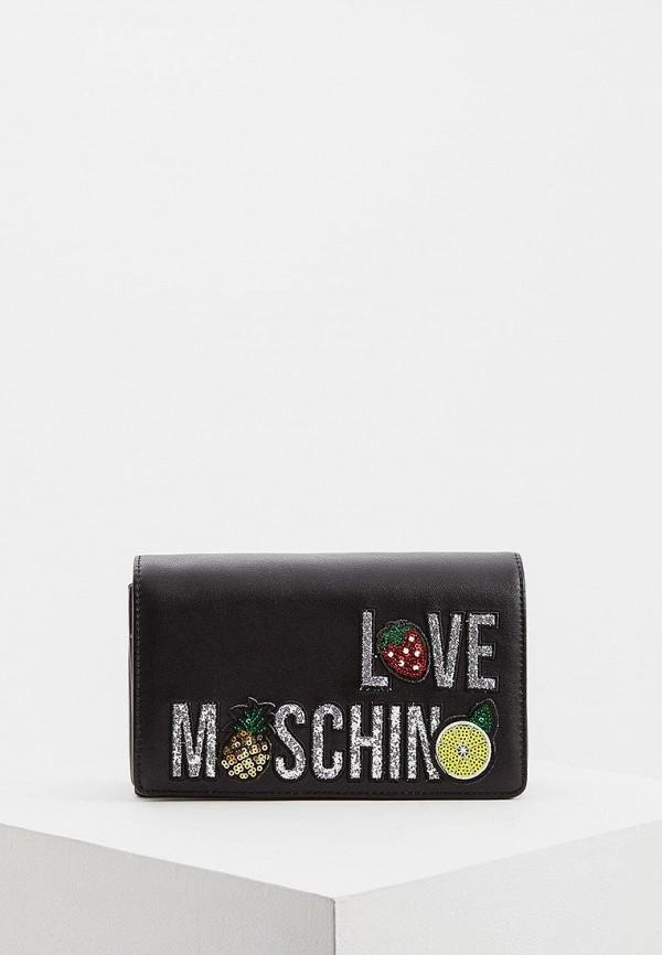 Сумка Love Moschino Love Moschino LO416BWEDBB5 недорго, оригинальная цена