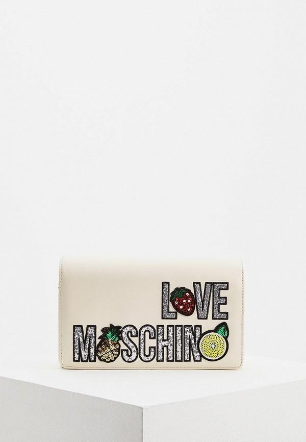 Сумка Love Moschino Love Moschino LO416BWEDBB6 сумка love moschino love moschino lo416bwaevg6