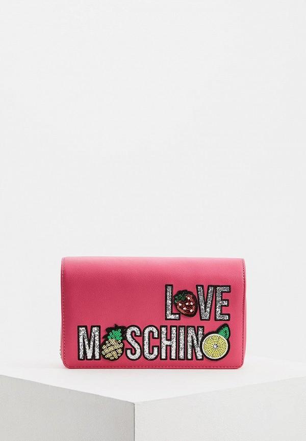 Сумка Love Moschino Love Moschino LO416BWEDBB7 сумка love moschino love moschino lo416bwuah74