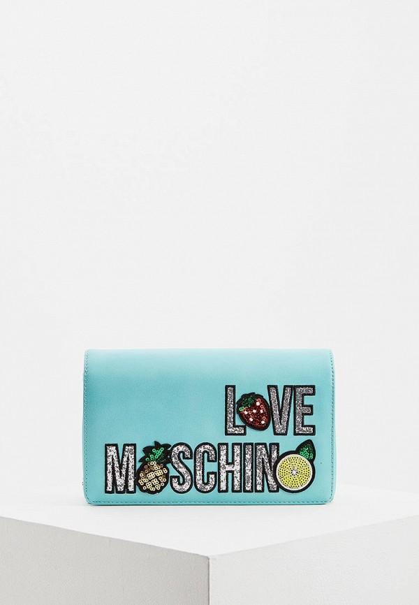 Сумка Love Moschino Love Moschino LO416BWEDBB8 джинсы moschino love голубой
