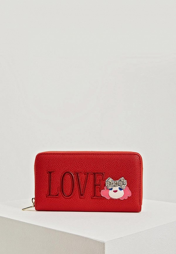 Кошелек Love Moschino Love Moschino LO416BWEDCH7 цена 2017