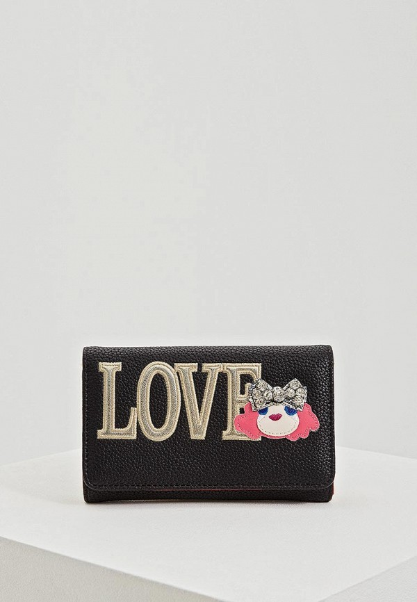 Кошелек Love Moschino Love Moschino LO416BWEDCH8 цена 2017