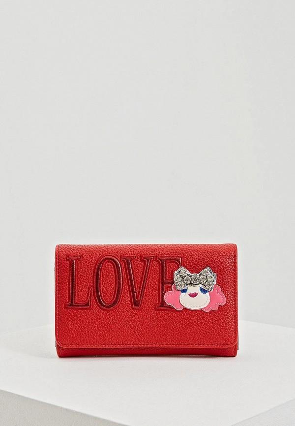 Кошелек Love Moschino Love Moschino LO416BWEDCH9 цена 2017