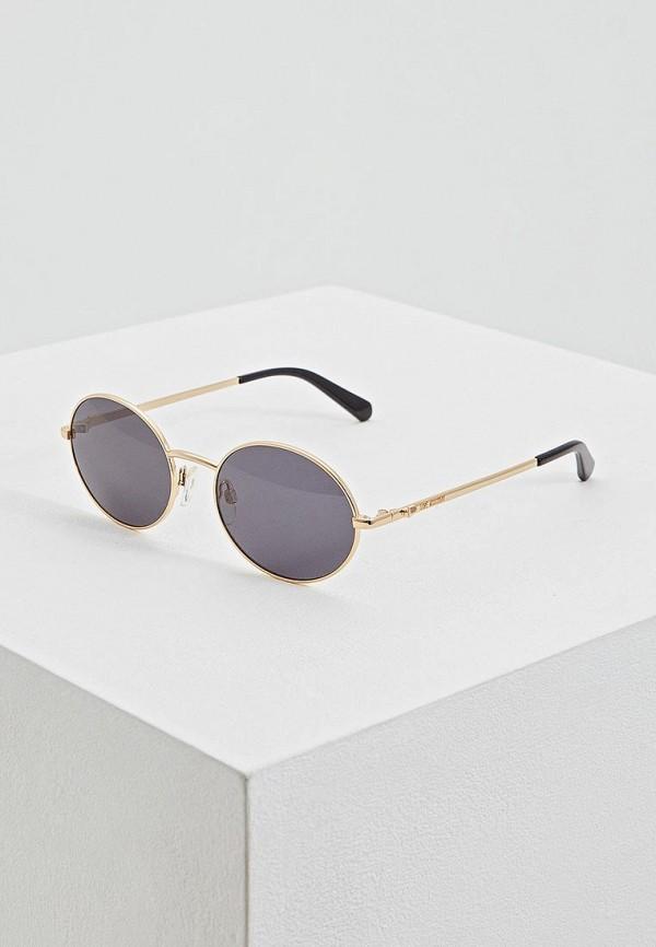 женские солнцезащитные очки love moschino, серые
