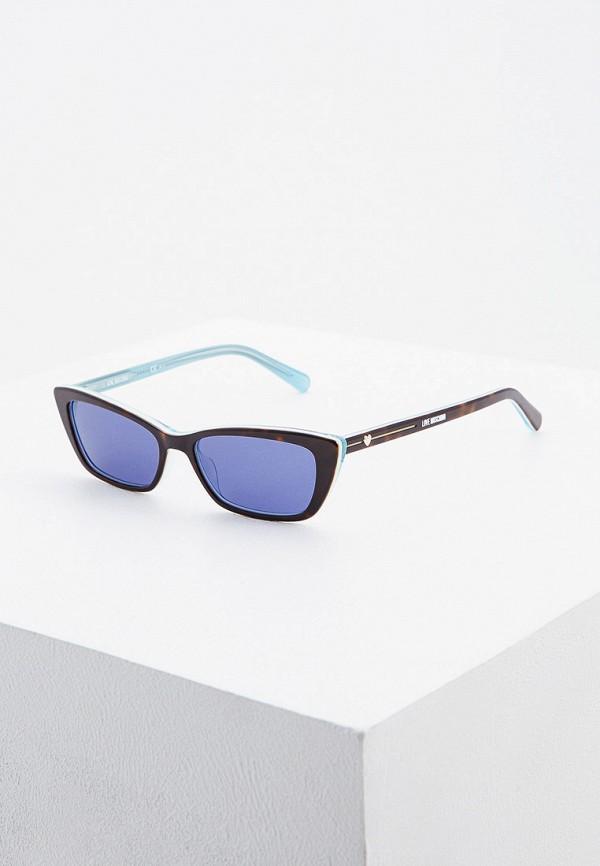 Очки солнцезащитные Love Moschino.