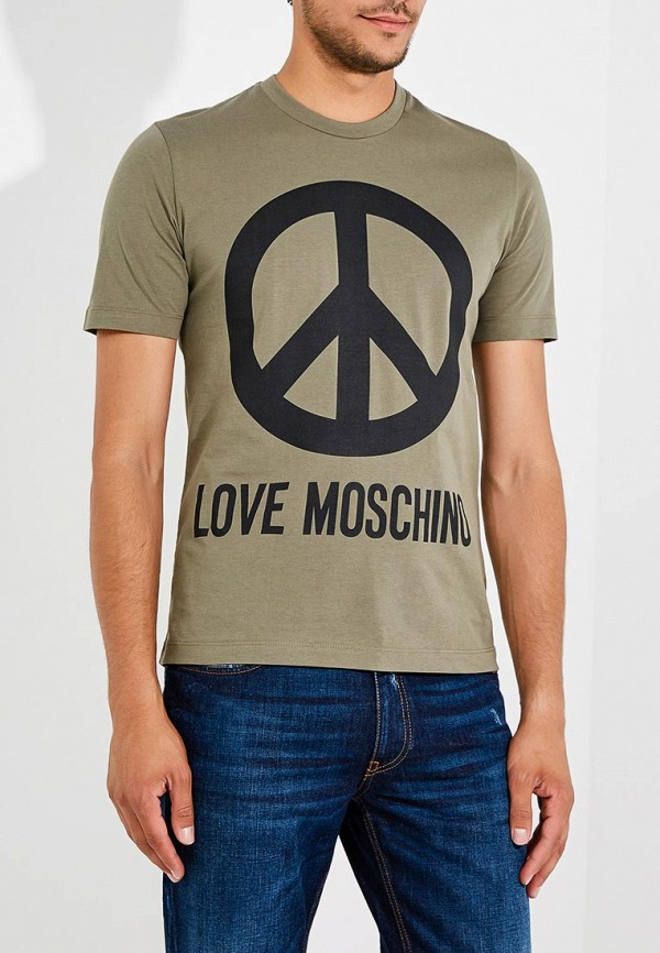 Футболка Love Moschino Love Moschino LO416EMBREV4 футболка love moschino love moschino lo416ewypt14