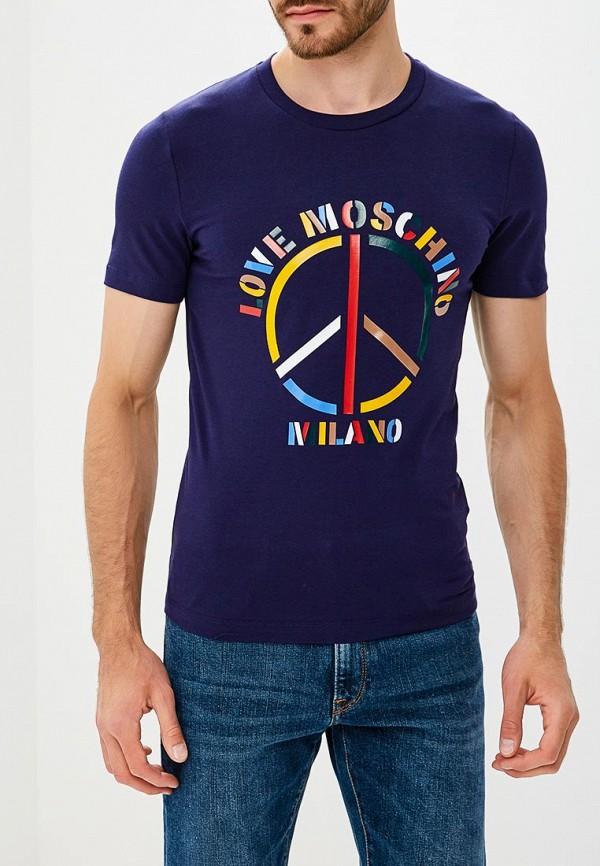 Футболка Love Moschino Love Moschino LO416EMCEJU4 футболка love moschino love moschino lo416emypv41