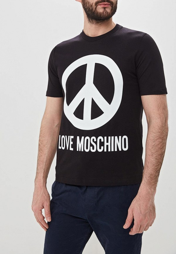Футболка Love Moschino Love Moschino LO416EMDRNO4 недорго, оригинальная цена
