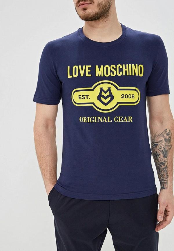 Футболка Love Moschino Love Moschino LO416EMEODD2 недорго, оригинальная цена