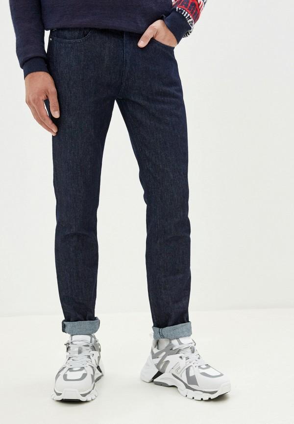 Фото - мужские джинсы Love Moschino синего цвета