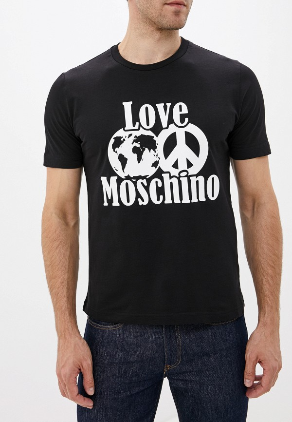 Футболка Love Moschino Love Moschino LO416EMFSWO6 футболка love moschino love moschino lo416ewdrjh6