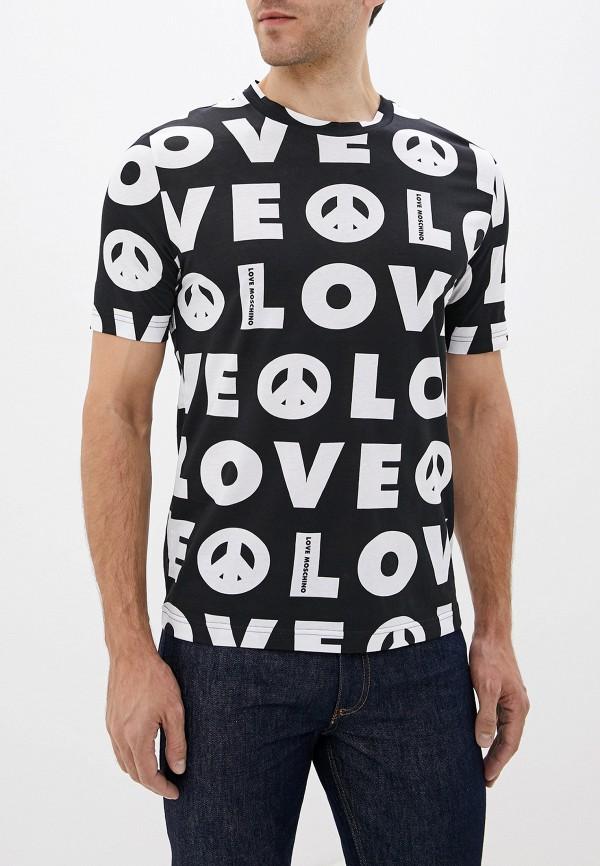Футболка Love Moschino Love Moschino LO416EMFXPC9 футболка love moschino love moschino lo416emdrno6