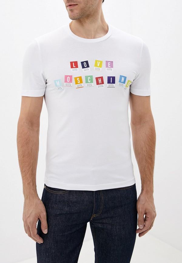 Футболка Love Moschino Love Moschino LO416EMFXPD4 футболка love moschino love moschino lo416emdrno6