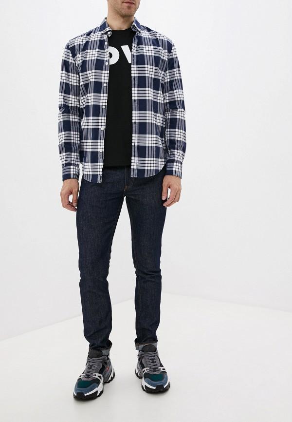 Фото 2 - мужские джинсы Love Moschino синего цвета