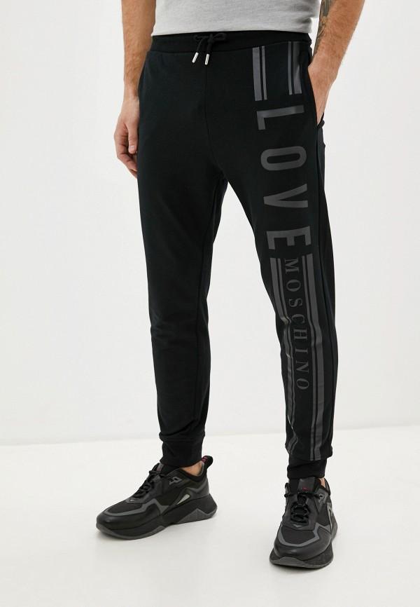 мужские спортивные брюки love moschino, черные