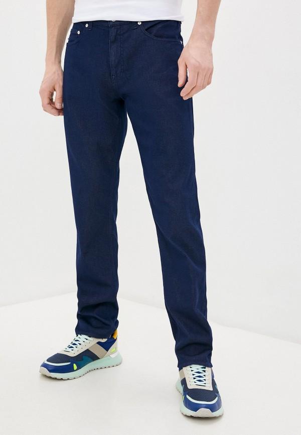 мужские прямые джинсы love moschino, синие