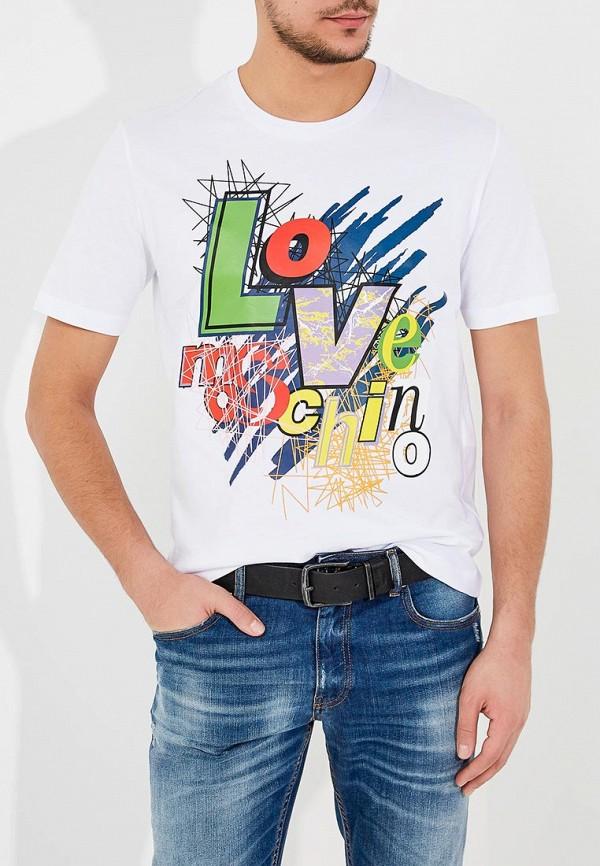 Футболка Love Moschino Love Moschino LO416EMYPV37 цены онлайн