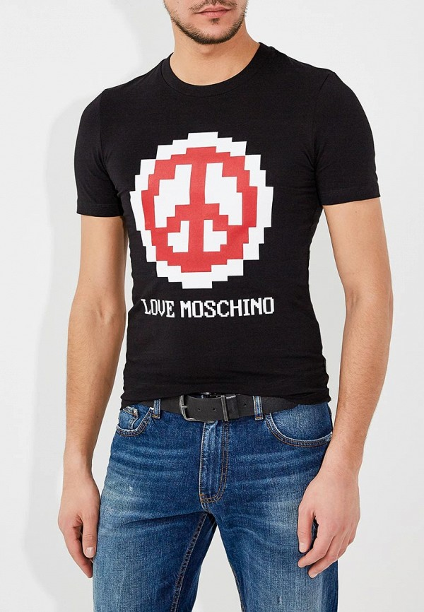 Футболка Love Moschino Love Moschino LO416EMYPV39 цены онлайн