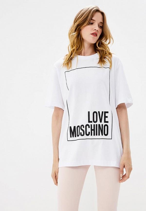 Футболка Love Moschino Love Moschino LO416EWCEJW3 love moschino футболка