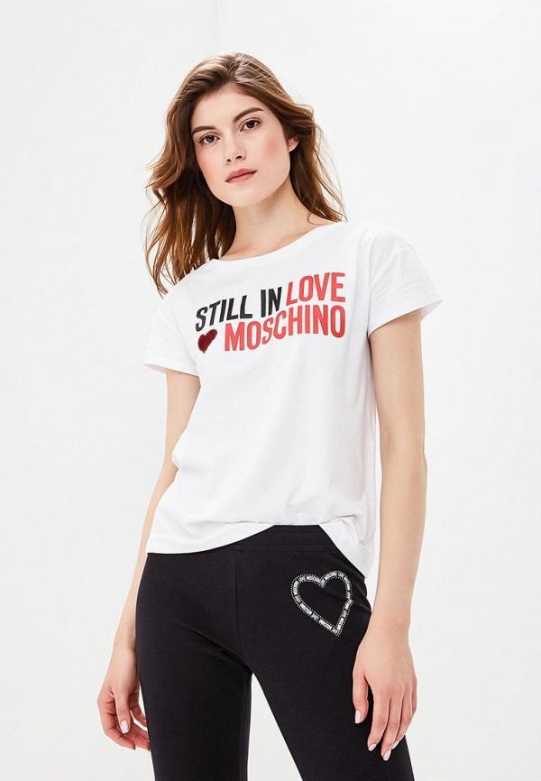 Футболка Love Moschino Love Moschino LO416EWCEJW5 love moschino футболка