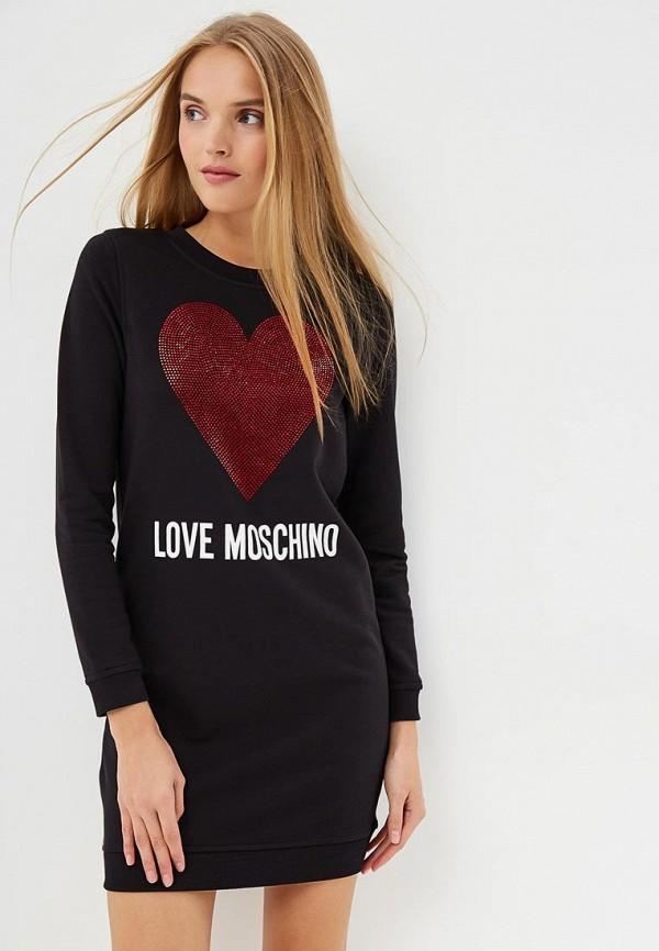 Платье Love Moschino Love Moschino LO416EWCEJX1 платье love moschino love moschino lo416ewukw56