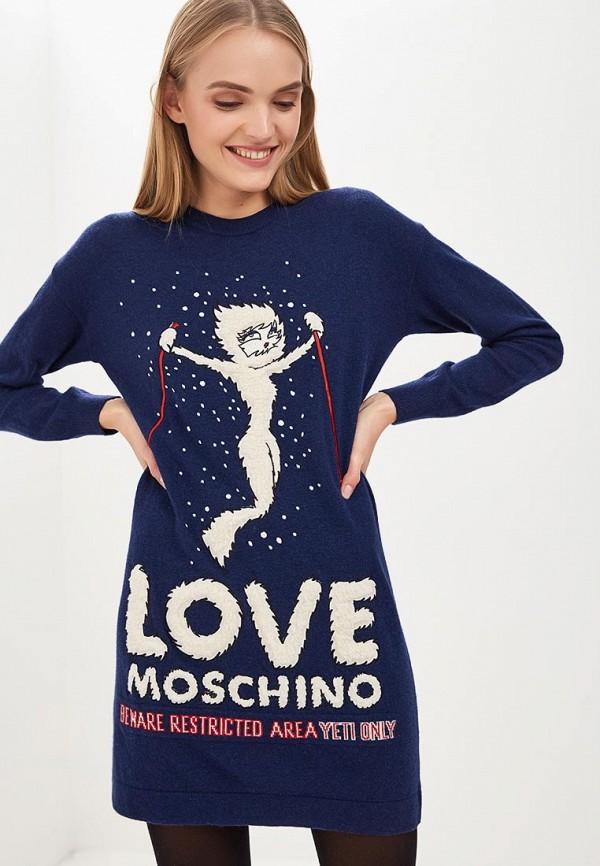 Платье Love Moschino Love Moschino LO416EWCEJX5 платье love moschino love moschino lo416ewdsb07