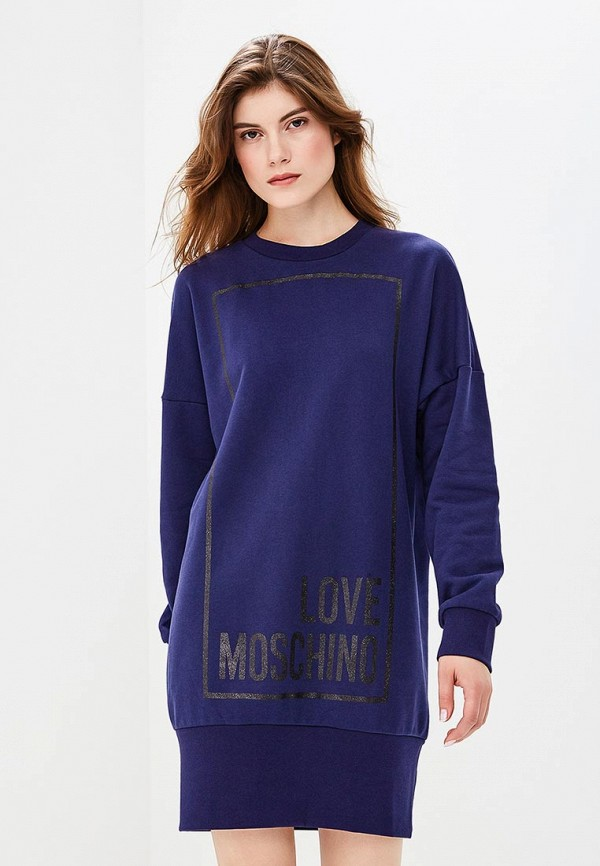 Платье Love Moschino Love Moschino LO416EWCEJX9 безмен электронный smile kse 3217