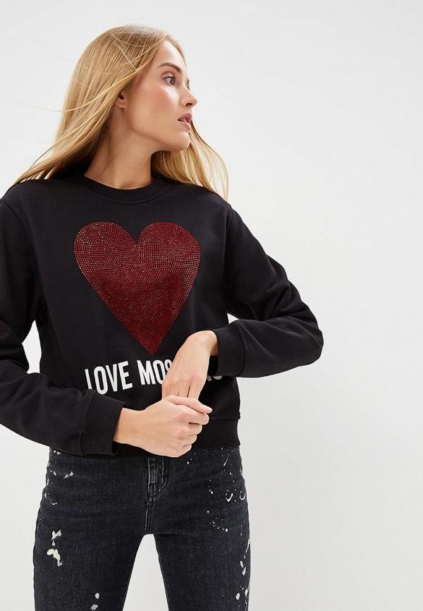 Свитшот Love Moschino Love Moschino LO416EWCEJY6 свитшот love moschino love moschino lo416ewaevl8