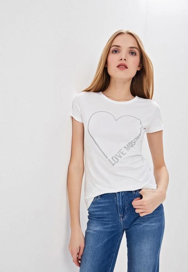 Футболка Love Moschino Love Moschino LO416EWDRJG7 цена