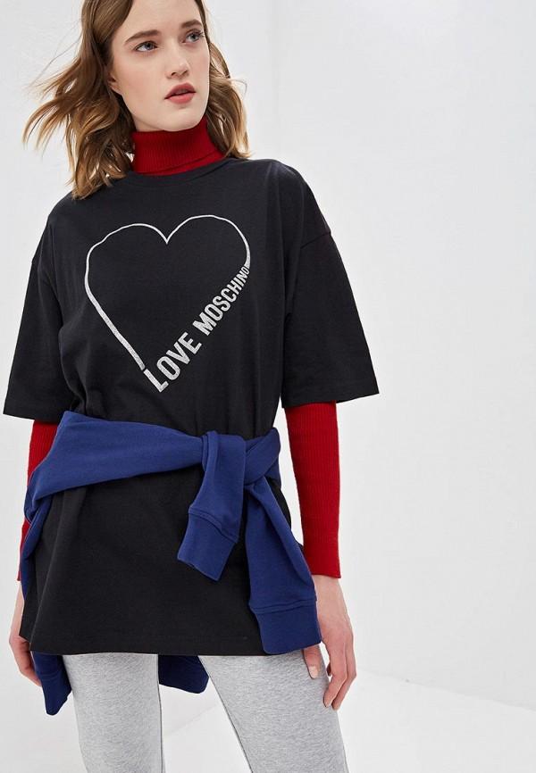 Футболка Love Moschino Love Moschino LO416EWDRJH5 цена