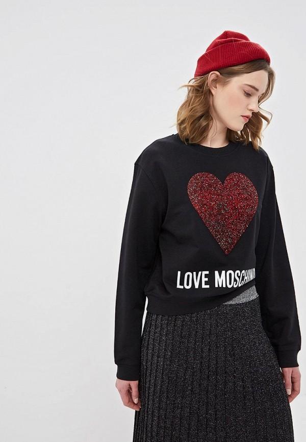 Свитшот Love Moschino Love Moschino LO416EWDRJI8 свитшот moschino moschino mo351ewmid58