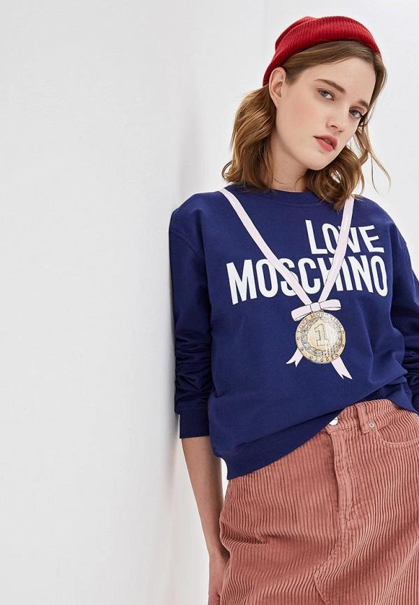 Свитшот Love Moschino Love Moschino LO416EWDRJJ2 hek 1153 01