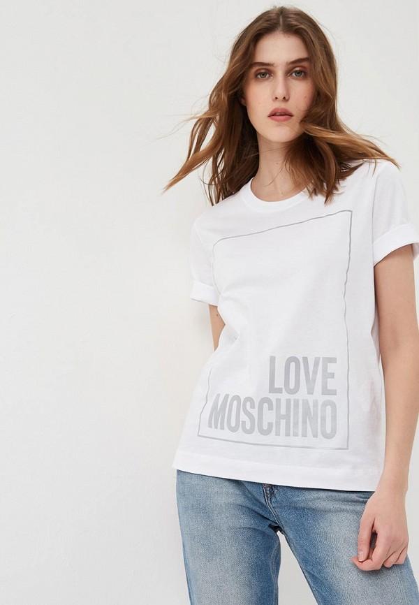 Футболка Love Moschino Love Moschino LO416EWEDAT8 все цены