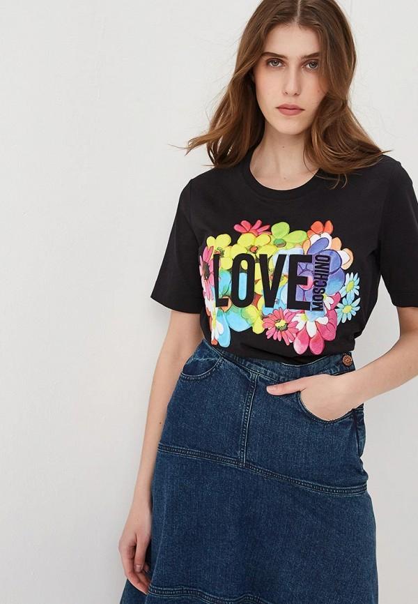 Футболка Love Moschino Love Moschino LO416EWEDAU1 все цены
